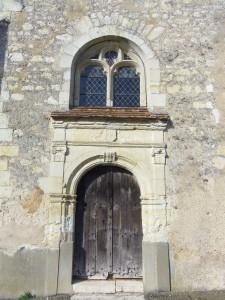 Porte sud de l'église